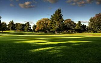 Golf Course landscape Wallpaper HD Wallpaper with 1920x1200 Resolution