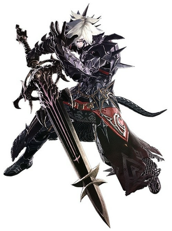 Dark Knight Final Fantasy XIV   The Final Fantasy Wiki   10 years of