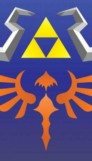 Hylian Shield Wallpaper for iPhone 5 Smartphones by CesarIkari on