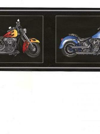 Brewster Harley Davidson Wallpaper Border