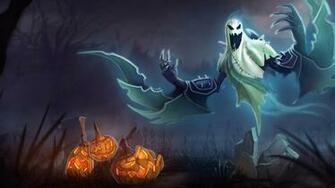 Nocture Ghost Halloween Skin A4 Wallpaper HD