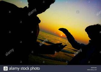 Many beautiful wallpapers of human shadow Stock Photo 260505744