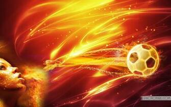 Fire Football Wallpaper Download Wallpapers