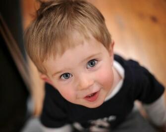 Cute Little Baby Boy In Surprise HD Wallpaper Cute Little Babies