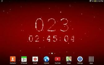 countdown live wallpaper countdowns for your favourite holidays