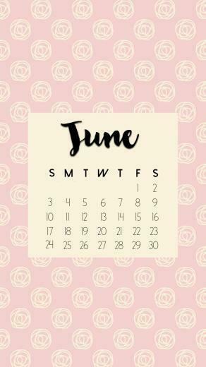 June 2018 iPhone Calendar Wallpapers Max Calendars