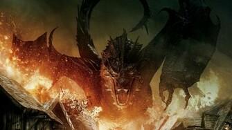 Download The Hobbit Battle Of Five Armies Dragon HD Wallpaper Search