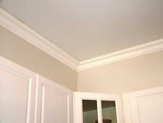 DCT Plain Styrofoam Crown Molding 6 in wide 65 ft long   Wallpaper