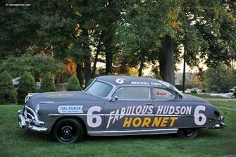 1952 Hudson Hornet NASCAR conceptcarzcom
