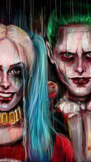 Harley Quinn and Joker iPhone Wallpaper 2019 3D iPhone Wallpaper