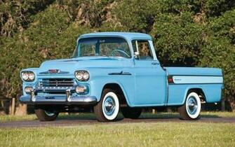 1958 Chevy Cameo Classic Pickup Truck Wallpaper   HD