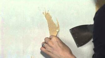 Simple Solution to Remove Wallpaper Paste in Older Homes