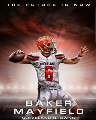 BAKER OU Football stars Cleveland browns football