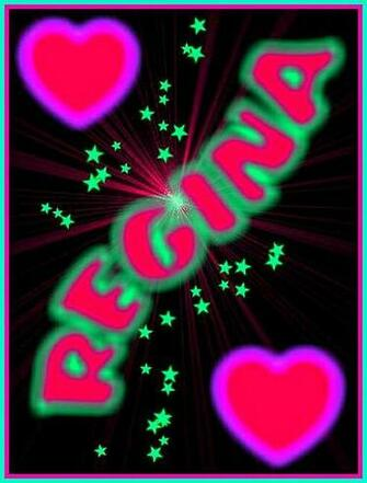 REGINA CUSTOM MADE NAME WALLPAPER This is another very p