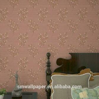 Removable Glitter Purple Wallpaper View decorative removable
