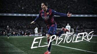 Luis Suarez   El Pistolero Wallpaper by xXxAlanossxXx