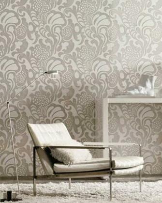 Librarian Tells All Flocked Wallpaper for Your Swanky Bachelorette
