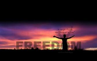FREEDOM Wallpaper FREEDOM Desktop Background