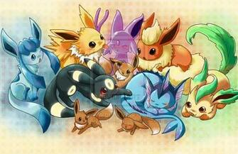 Cute Eevee Evolutions Wallpaper Eevee evolutions by