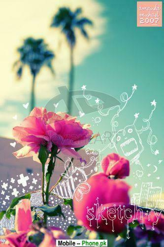 Beautiful flower wallpapers Wallpaper for Mobile