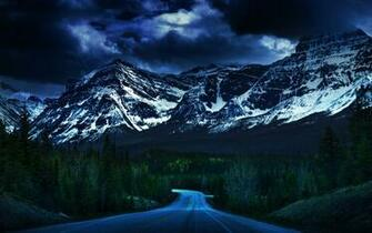 Long road to the mountains wallpaper 39567