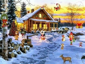 And Wallpapers christmas screensavers photo wallpapers christmas