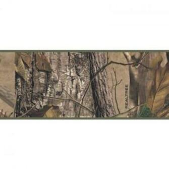Wallpaper Border Lodge RealTree AP Camo Border