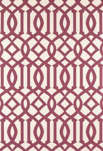 Regal Trellis   A Sophisticated LatticeTrellis Wallpaper Screen [LAT