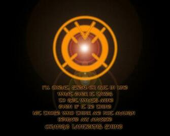 download Orange Lantern Corps Wallpaper 7 1280 X 1024