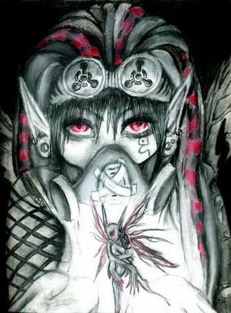 Cyber Goth Anime Wallpaper Cyber goth farie by long live