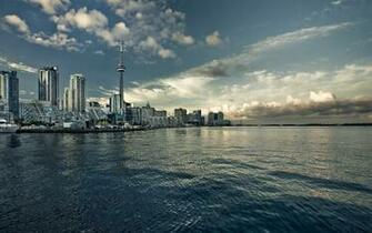 Daily Wallpaper Toronto Skyline I Like To Waste My Time