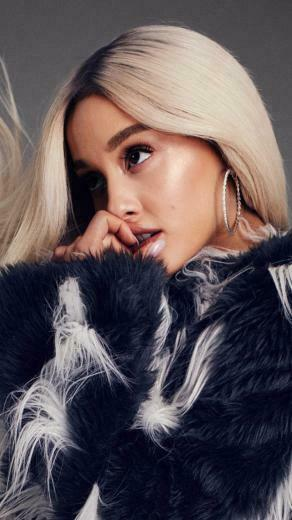 Download Ariana Grande Elle 2018 Pure 4K Ultra HD Mobile
