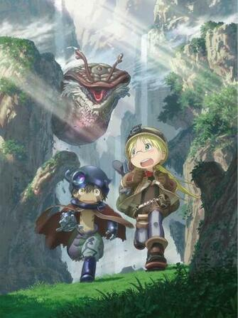 Crunchyroll   Made in Abyss Explores New Worlds with Key