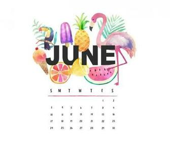 June 2018 Calendar Wallpaper   Best Calendar Printable PDF