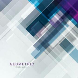 Geometric Abstraction Vector Graphic professional composition