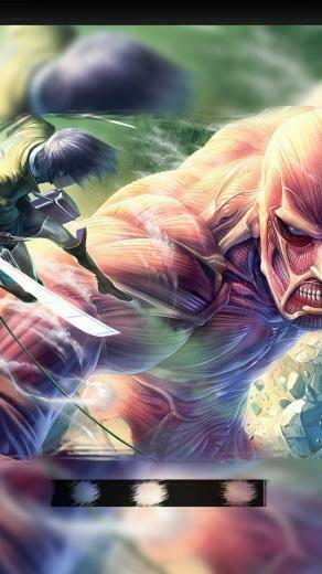 Attack on Titan iPhone 55s Lockscreen Wallpaper 9 by chchcheckit on