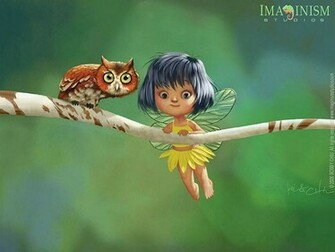 Cute Fairy Wallpaper 3D 9 Wallpaper Wallpaper