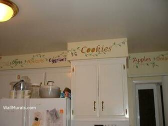 KITCHEN WALL MURALS BY COLETTE KITCHEN MURALS BORDERS