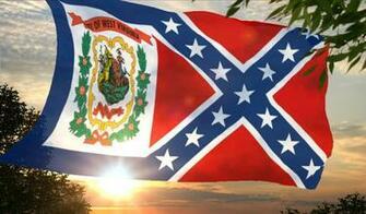 West Virginia Confederate flag wallpaper photo WVRebel3 1jpg