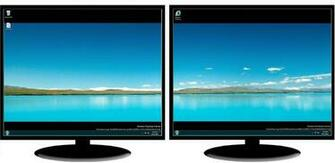 dual monitor wallpaper software