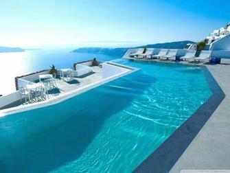 Santorini Hotel 4K HD Desktop Wallpaper for 4K Ultra HD TV
