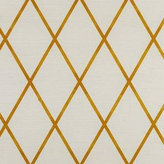 Home View All Colours YELLOW Trellis Sisal Wallpaper