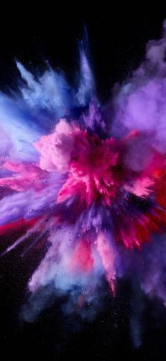 Beautiful Wallpapers For Apple iPhone X Art Smoke wallpaper