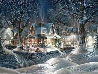 town desktop wallpaper download beautiful christmas town wallpaper