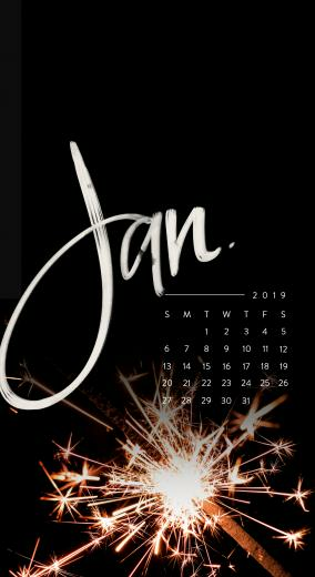 Downloadable Tech Backgrounds for January 2019 The Everygirl