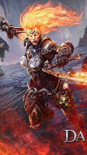 Darksiders 3 Fury Darksiders III Game PC Playstation desktop