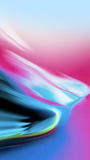 Wallpaper iPhone X wallpaper iPhone 8 iOS 11 colorful HD OS