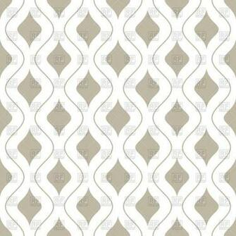 White and beige seamless wallpaper with wavy lines 47974 Backgrounds