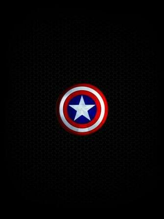 Captains Shield   HD ipadiphoneandroid Wallpape by