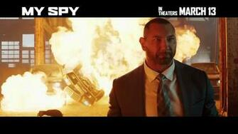 My Spy movie 2020   Dave Bautista Chloe Coleman   video dailymotion